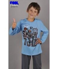 Cool Comics Dětské pyžamo dlouhé Hráč basketu - tyrkysová