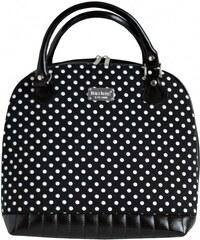 Dara bags Černá kabelka Sweet Angel Bell Big No. 156 Audrey Hepburn