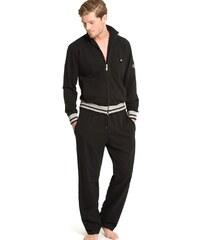JOCKEY JCK-50302L-BLACK: Pánské domácí oblečení JOCKEY (prodloužená délka)