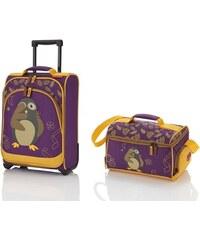 Travelite Travelite Youngster – dětská sada kufru a cestovní tašky Hedwig