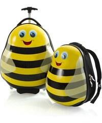 Heys Heys Travel Tots Lightweight Kids Bumble Bee – sada batohu a kufru