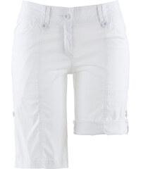 bpc bonprix collection Bermuda extensible effet paper touch blanc femme - bonprix