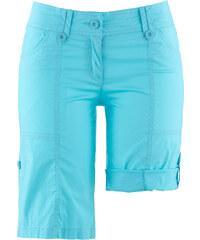bpc bonprix collection Bermuda extensible effet paper touch bleu femme - bonprix