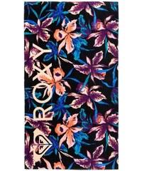 Roxy Plážová osuška Hazy True Black Maui Lights ERJAA03089-KVJ8