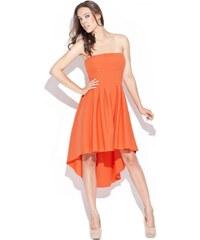 KATRUS Dámské šaty KATRUS K031 oranžové