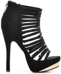 VICES Páskové sandálky na podpatku