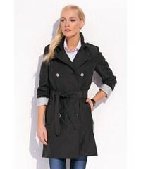 Dámský luxusní kabát značky Zaps černá 40