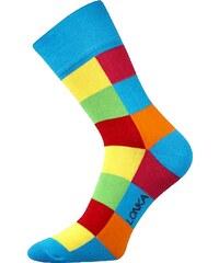 Lonka barevné ponožky Decube modré