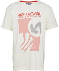 Haywire Junior Longton T-Shirt Lily White