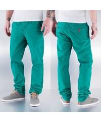 Pascucci Slim Fit Chino Pants Green