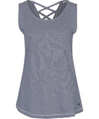 EDC BY ESPRIT Streifenshirt mit Band Detail am Rücken