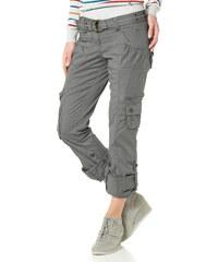 BOYSEN'S Strečové cargo kalhoty, Flashlights světle šedá - Kratší/delší provedení (K,L)
