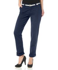AJC Chino kalhoty, AJC námořnická modrá - Krátká/prodloužená délka (K, L)