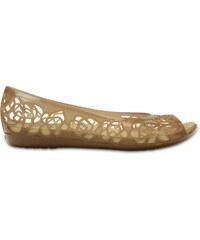 Crocs Isabella Jelly Flat Bronze
