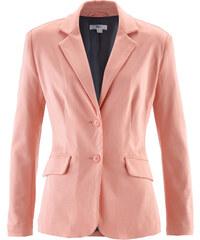 bpc bonprix collection Blazer en jersey orange manches longues femme - bonprix