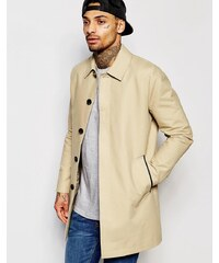 ASOS - Trench-coat droit imperméable - Taupe - Taupe