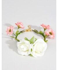 ASOS Wedding - Blüten-Armband - Cremeweiß