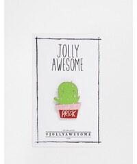 Jolly Awesome - Pin's émaillé motif cactus - Multi