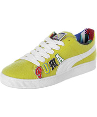 Puma Basket X Dee&Ricky Cr chaussures vibrant yellow/wht