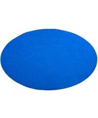 Teppich rund Living Line Kunstrasen Premium In- und Outdoorgeeignet getuftet LIVING LINE blau 43 (Ø 400 cm)