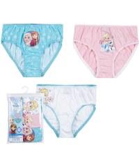 Disney Die Eiskönigin 3 er Pack Slips pink in Größe 104 für Mädchen aus 100% Baumwolle