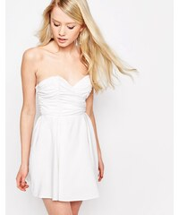 Glamorous - Babydoll-Kleid - Weiß