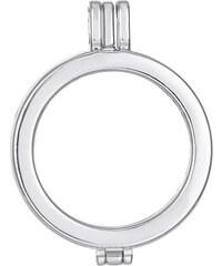 Lesara Halskette mit Anhänger samt Herzen-Einsatz - Silber