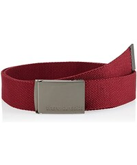 Urban Classics Unisex Gürtel Canvas Belts