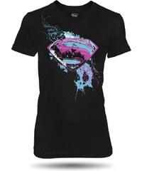 Tričko Superman Man of Steel Style dámské oficiální kolekce Superman