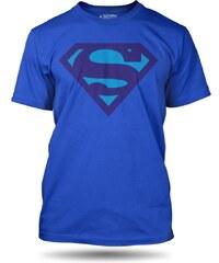 Tričko Superman blue S-shield pánské oficiální kolekce Superman