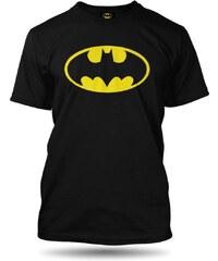 Tričko Batman logo pánské černé oficiální kolekce Batman