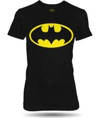 Tričko Batman logo dámské černé oficiální kolekce Batman