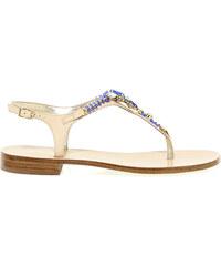 Sandales plates capri ef208