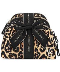 Set tří kosmetických taštiček Victoria´s Secret leopard print