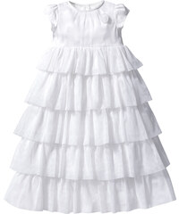 bpc bonprix collection Robe de baptême, T. 56-80 blanc enfant - bonprix