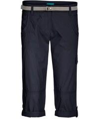 COOL CODE Damen Cargohose 3/4 Länge blau aus Baumwolle