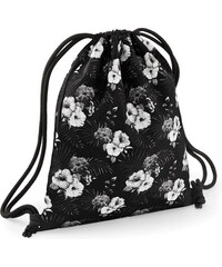 Vak na záda Graphic - Černobílé květy univerzal