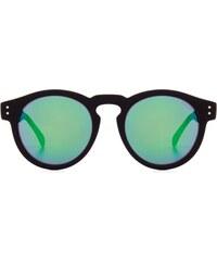 Sluneční brýle Komono Clement Mirror black rubber blue/green mirror