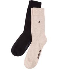 Gaastra 2-Pack Socks noir Hommes