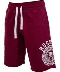 Russell Athletic SHORTS ROSETTE červená S