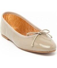 Ann Tuil Barcelone - Ballerines - en cuir beige