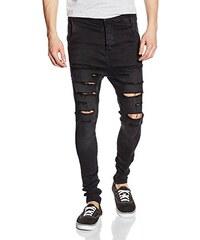 Sik Silk Herren Siksilk Washed Distress Hareem Jeans