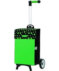 Andersen Nákupní taška na kolečkách UNUS SHOPPER® FUN TESSY 121-017-50 zelená