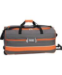 Southwest Cestovní taška na kolečkách 30212-2714 šedá / oranžová