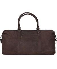 Cestovní taška z buvolí kůže 0341 hnědá