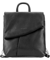 ESTELLE Dámský kožený batoh 0144 černý