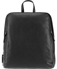 ESTELLE Dámský kožený batoh 0610 černý