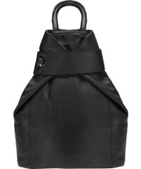 ESTELLE Dámský kožený batoh 0960 černý