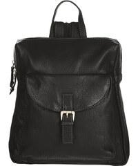 ESTELLE Kožený batůžek 0750 černý