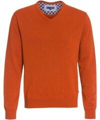 Paul R.Smith Herren Strickpullover orange aus Baumwolle